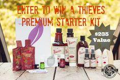 Thieves Premium Starter Kit giveaway
