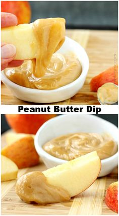 Peanut Butter Dip is simple and easy to prepare but impressive. It's perfect with fruit for after school snacks and tailgating but elegant enough for entertaining.