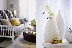 Zuhausewohnen Schlicht und stilvoll Trendfarbe Weib 2