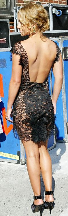 backless lace style ♥✤ | Keep the Glamour | BeStayBeautiful