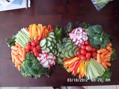 Vegetable Trays by Kimberly Houvener