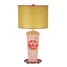 Movie Room Table Lamp