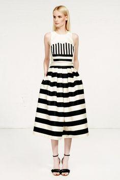 Tibi stripes #fashion #style