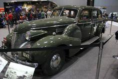 General George S. Patton Jr.'s 1939 Cadillac Model 75 Staff Car