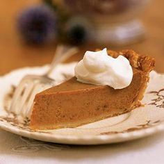 Classic Pumpkin Pie   CookingLight.com