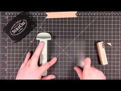 Quick Tip - How to Use a Stamp Positioner by @Kristina Kilmer Kilmer Werner