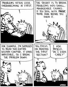 haha I love Calvin and Hobbes!! :)
