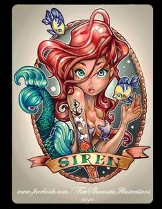 Disney Princess Tattoos Disney tattoo | alice in wonderland tattoo | ariel tattoo | little mermaid tattoo | belle tattoo | beauty and the beast tattoo | snow white tattoo | cinderella tattoo | tinker bell tattoo | jasmine tattoo | aladdin tattoo | tiana tattoo | princess and the frog tattoo | tattoo ideas | tattoo inspiration
