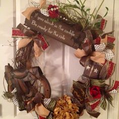 Country/western wreath
