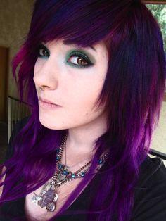 <3 the purple hair