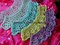crochet collar. Would look so prety with a summer tee-shirt or tank top