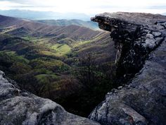 McAfee Knob is one of the most photographed spots on the Appalachian Trail. The Knob has an almost 270 degree panorama of the Catawba Valley and North Mountain to the West, Tinker Cliffs to the North and the Roanoke Valley to the East.      It is a steady climb of around 1700' in about 4.4 miles to the Knob from the VA311 parking area so you will get a good workout. On a clear day you will have some of the best views in the Southern Shenandoah Valley.