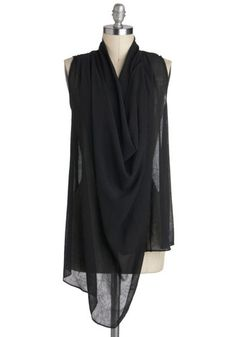 drape mysteri, ramirez701 cloth, fashion, style, modcloth top, life drape, mysteri top, 2dayslook tunic, black uniform