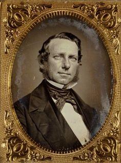 Washington King, Mayor of St. Louis (1855-1856). Daguerreotype by Thomas M. Easterly. Missouri History Museum.