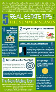 Real Estate Tips   Buying and Selling in the Summer #summerrealestate #realestatetips #houseselling