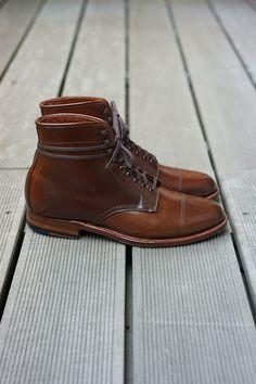 Alden Hunting Boot - Ravello Shell Cordovan, Flex-Welt, Waterloc Sole, Barrie Last