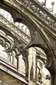 milan, travel tips, gothic gargoyl, rooftop, flying buttress, gothic architecture, place, walk, fli buttress