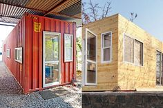 Pune woman makes studio apartment from a shipping container - Life and style