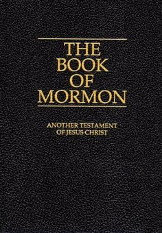 The Book of Mormon!