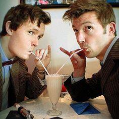 It's eleven and ten! Geek milkshake match made in heaven.