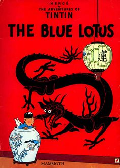 Tintin Blue Lotus, Herge