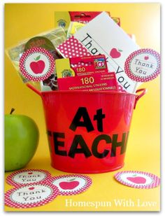 I think this would be a great beginning of the year teacher gift.
