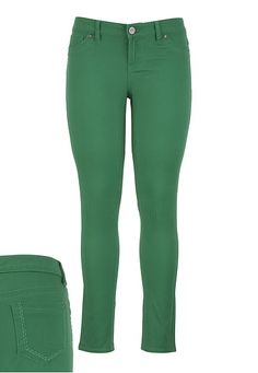 Colored Skinny Bottom available at #Maurices