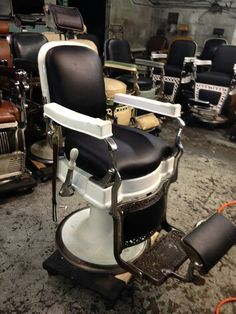 Antique Barber Chair On Pinterest Barber Chair Barber