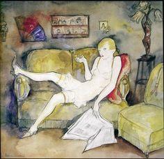 pintura de Jeanne Mammen (1890-1976)