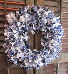 Penn State rag wreath