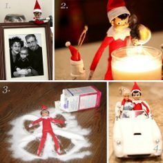 elf on the shelf ideas | Elf on the Shelf Ideas – Peg It Board | best stuff