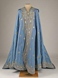 cloaks, balls, fashion, capes, blue, dates, art, 19th century, mantles