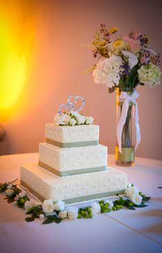 Heart cake topper silver cake, heart cake, wedding cakes, simpl squar, cake toppers