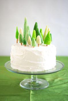 Marzipan Tree Cake D