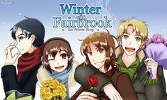 Winter In Fairbrook  #otome #game #Android_app