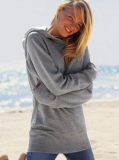 Classic Fleece Hooded Tunic - Victoria's Secret