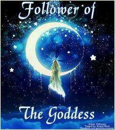 Follower of the Goddess.  For more Pagan/fantasy/Witchy images click the image to go to my graphics page, Gemini Moon.