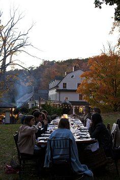 Autumn dinner