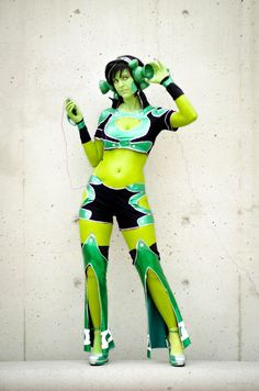 Cosplay Green Lantern Ame Comi Jade Cosplay- Eardrums Be Damned. by JFamily.deviantart.com on @deviantART