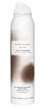 brown hair powder