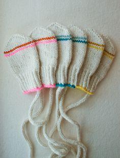 Baby mittens.  3-9 months.