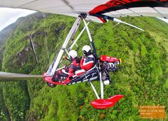 Flying High in Hana! With Hang Gliding Maui