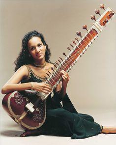 sitar - Anoushka Shankar (sister of Nora Jones)