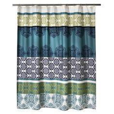 Boho Boutique Mosaic Brocade Shower Curtain $24.99