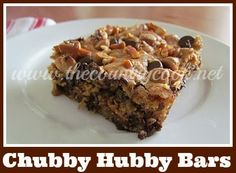 Chubby Hubby Bars (If you love Ben & Jerry's Chubby Hubby Ice Cream then you will LOVE these!!)