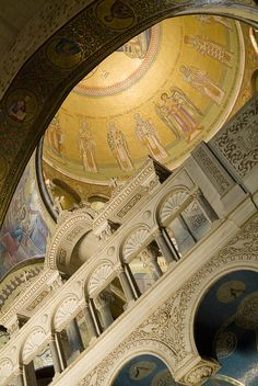 Jerusalem, Israel, Church of the Holy Sepulcher In Christian Quarter in Old City