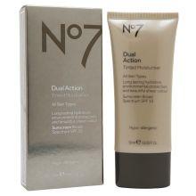 My favorite tinted moisturizer! Boots No7 Dual Action Tinted Moisturiser, SPF 15 #walgreens #target