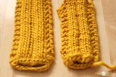 How to translate a needle knit pattern for a loom