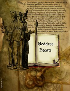 Goddess Hecate page 1