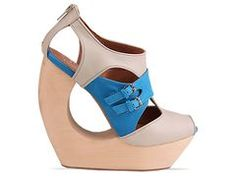 Jeffrey Campbell Rock Me in Ivory Blue